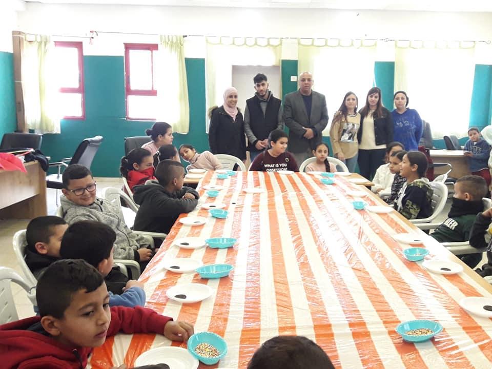 بمشاركة رئيس المجلس- أمير مزاريب افتتح قسم الشبيبة مخيم الشتاء لسنة 2020.